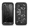 The Black and White Lace Pattern10867032_xl Samsung Galaxy S4 LifeProof Fre Case Skin Set