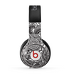 The Black and White Paisley Pattern V6 Skin for the Beats by Dre Pro Headphones