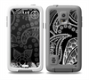 The Black and White Paisley Pattern v14 Skin for the Samsung Galaxy S5 frē LifeProof Case