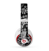 The Black and White Paisley Pattern v14 Skin for the Beats by Dre Studio (2013+ Version) Headphones