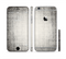 The Black and White Scratched Texture Sectioned Skin Series for the Apple iPhone 6s