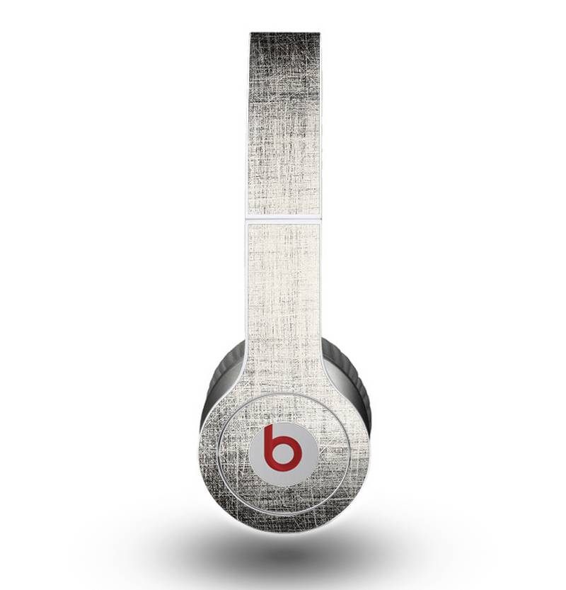 The Black and White Scratched Texture Skin for the Beats by Dre Original Solo-Solo HD Headphones