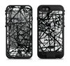 the black and white shards  iPhone 6/6s Plus LifeProof Fre POWER Case Skin Kit