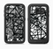 The Black and White Shards Full Body Samsung Galaxy S6 LifeProof Fre Case Skin Kit