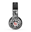 The Black and White Shards Skin for the Beats by Dre Pro Headphones