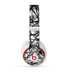 The Black and White Shards Skin for the Beats by Dre Studio (2013+ Version) Headphones