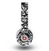 The Black and White Shards Skin for the Original Beats by Dre Wireless Headphones