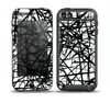 The Black and White Shards Skin for the iPod Touch 5th Generation frē LifeProof Case