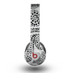 The Black and White Spotted Hearts Skin for the Beats by Dre Original Solo-Solo HD Headphones