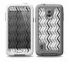 The Black and White Thin Lined ZigZag Pattern Skin Samsung Galaxy S5 frē LifeProof Case