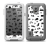 The Black and White Travel Collage Pattern Skin Samsung Galaxy S5 frē LifeProof Case