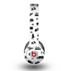 The Black and White Travel Collage Pattern Skin for the Beats by Dre Original Solo-Solo HD Headphones