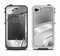 The Black and White Wavy Surface Apple iPhone 4-4s LifeProof Fre Case Skin Set