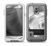 The Black and White Wavy Surface Skin for the Samsung Galaxy S5 frē LifeProof Case