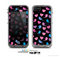 The Black with Pink & Blue Vector Tweety Birds Skin for the Apple iPhone 5c LifeProof Case
