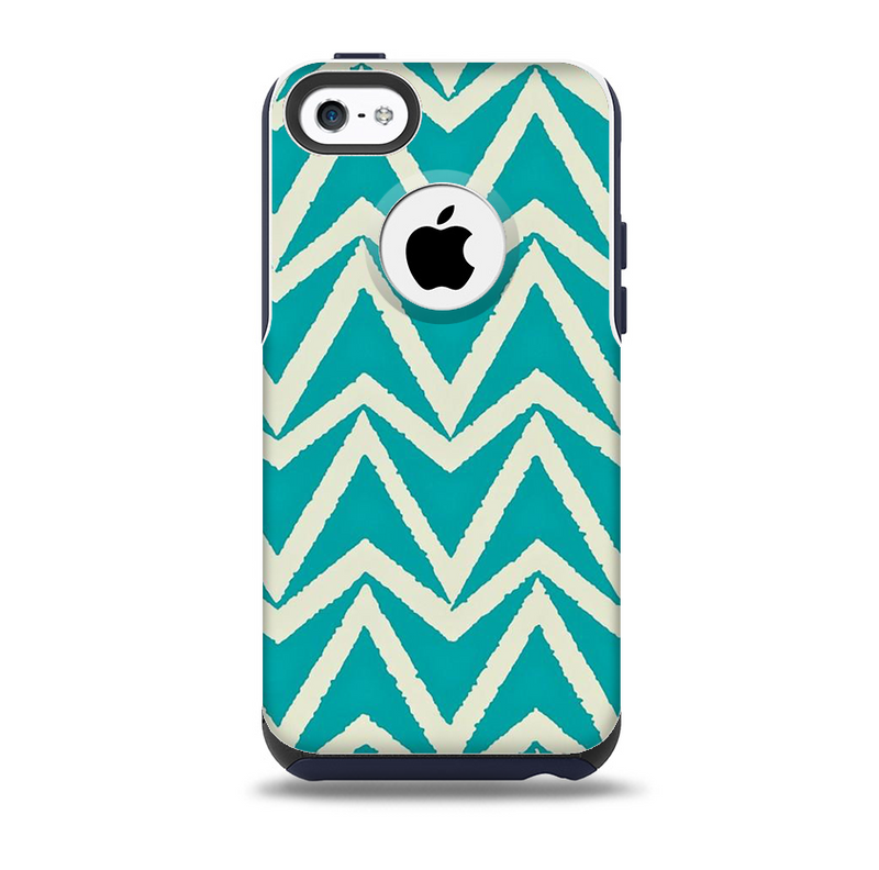 The Bleeding Green Skin for the iPhone 5c OtterBox Commuter Case