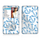 The Blue Anchor Stitched Pattern Skin For The Apple iPod Classic