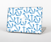The Blue Anchor Stitched Pattern Skin for the Apple MacBook Pro Retina 15""