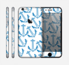 The Blue Anchor Stitched Pattern Skin for the Apple iPhone 6