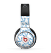 The Blue Anchor Stitched Pattern Skin for the Beats by Dre Pro Headphones