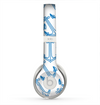 The Blue Anchor Stitched Pattern Skin for the Beats by Dre Solo 2 Headphones