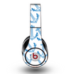 The Blue Anchor Stitched Pattern Skin for the Original Beats by Dre Studio Headphones