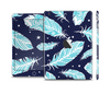 The Blue Aztec Feathers and Stars Skin Set for the Apple iPad Mini 4
