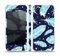 The Blue Aztec Feathers and Stars Skin Set for the Apple iPhone 5