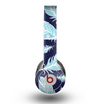 The Blue Aztec Feathers and Stars Skin for the Beats by Dre Original Solo-Solo HD Headphones