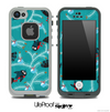The Blue Birds Abstract Skin for the iPhone 4-4s or 5 LifeProof Case
