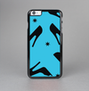 The Blue & Black High-Heel Pattern V12 Skin-Sert Case for the Apple iPhone 6 Plus