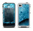The Blue Broken Concrete Apple iPhone 4-4s LifeProof Fre Case Skin Set