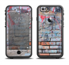 The Blue Chipped Graffiti Wall Apple iPhone 6/6s LifeProof Fre Case Skin Set