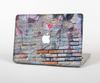 The Blue Chipped Graffiti Wall Skin for the Apple MacBook Pro 13""