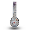 The Blue Chipped Graffiti Wall Skin for the Beats by Dre Original Solo-Solo HD Headphones
