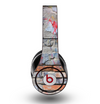 The Blue Chipped Graffiti Wall Skin for the Original Beats by Dre Studio Headphones