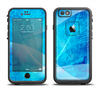 The Blue DIstressed Waves Apple iPhone 6/6s LifeProof Fre Case Skin Set