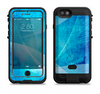The Blue DIstressed Waves Apple iPhone 6/6s LifeProof Fre POWER Case Skin Set