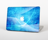The Blue Distressed Waves Skin for the Apple MacBook Air 13""
