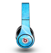 The Blue DIstressed Waves Skin for the Original Beats by Dre Studio Headphones