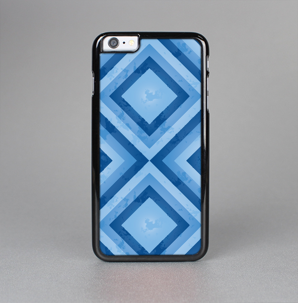The Blue Diamond Pattern Skin-Sert Case for the Apple iPhone 6 Plus
