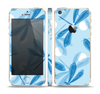 The Blue DragonFly Skin Set for the Apple iPhone 5s