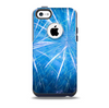 The Blue Fireworks Skin for the iPhone 5c OtterBox Commuter Case