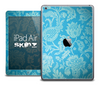 The Blue Floral Lace Skin for the iPad Air