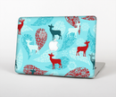 "The Blue Fun Colored Deer Vector Skin Set for the Apple MacBook Pro 15"" with Retina Display"