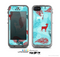 The Blue Fun Colored Deer Vector Skin for the Apple iPhone 5c LifeProof Case