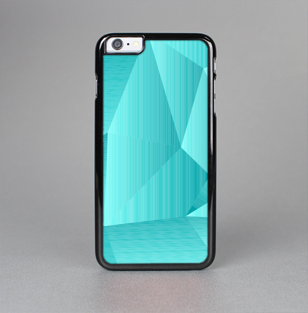 The Blue Geometric Pattern Skin-Sert Case for the Apple iPhone 6 Plus