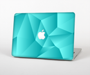 "The Blue Geometric Pattern Skin Set for the Apple MacBook Pro 15"" with Retina Display"