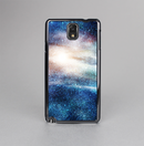 The Blue & Gold Glowing Star-Wave Skin-Sert Case for the Samsung Galaxy Note 3