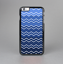 The Blue Gradient Layered Chevron Skin-Sert Case for the Apple iPhone 6 Plus